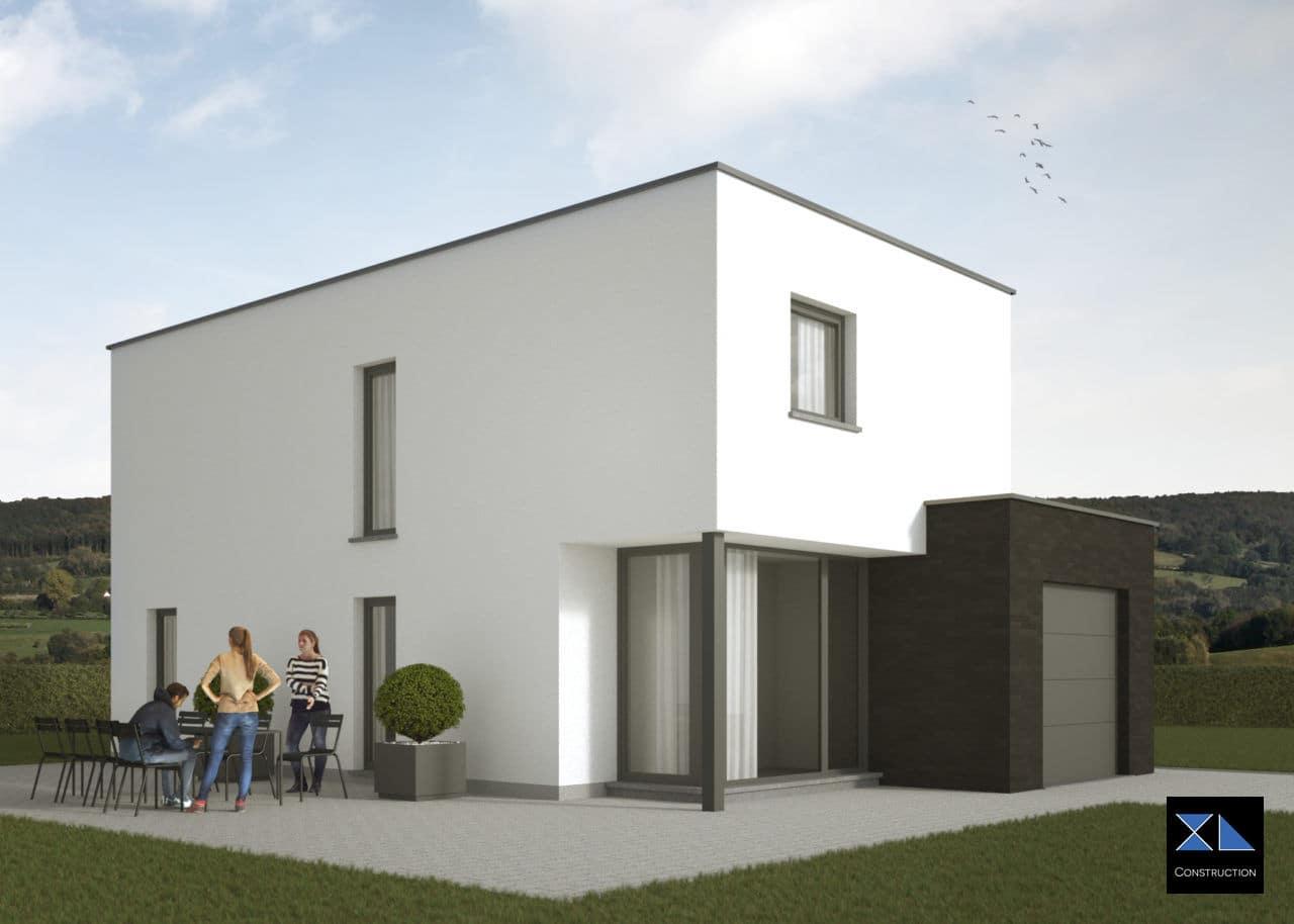 Maison moderne modèle XL14