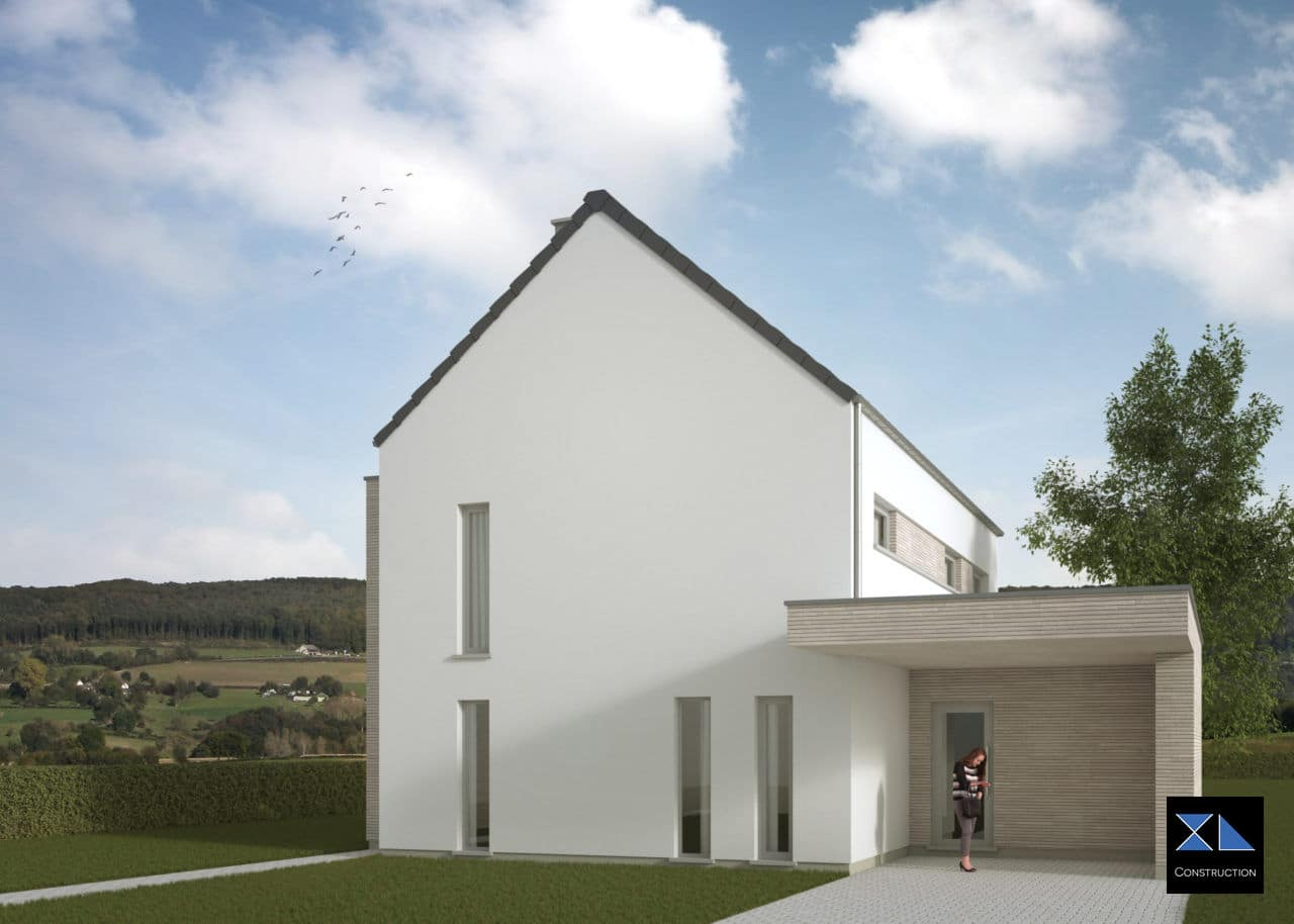 Maison moderne modèle XL31