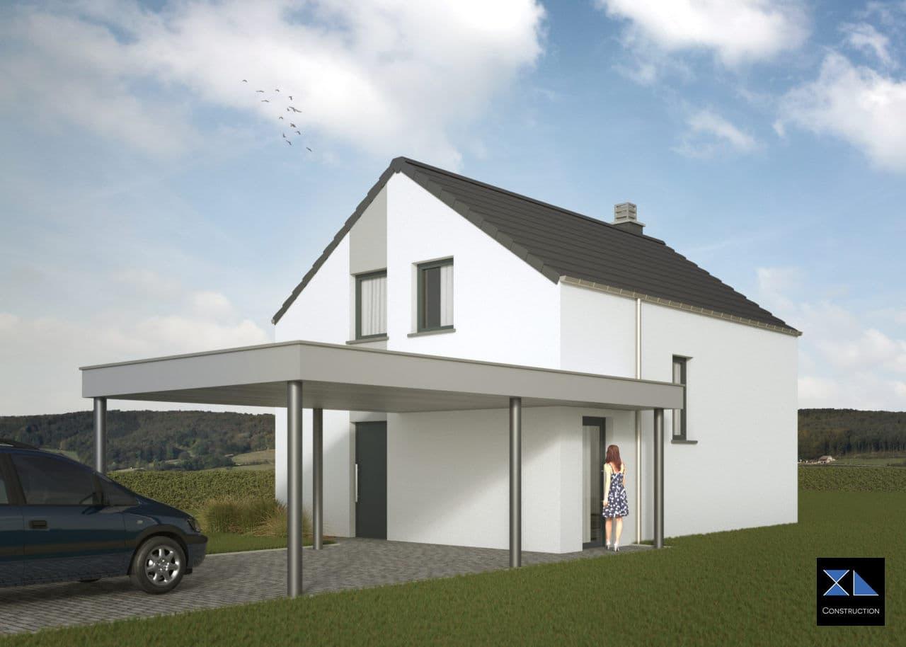 Maison clé sur porte modèle XL05